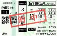 函館日刊スポーツ杯2020的中/競馬予想無料